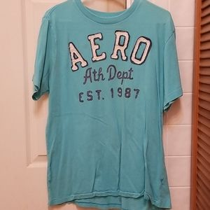 Large Blue Aeropostale Shirt